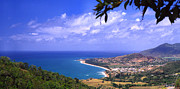 Puerto Rico Photo Prints - Southeast Coast  Panoramic Route Print by Thomas R Fletcher