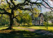 New Orleans Scenes Paintings - Southern Gothic by Karla Gilson Hunt