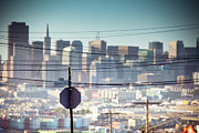 San Francisco Prints - Southern Heights Print by Hal Bergman Photography
