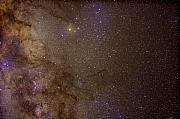 Southern Milky Way Print by Charles Warren