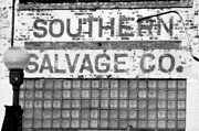 Warehouses Framed Prints - Southern Salvage Framed Print by Jan Amiss Photography