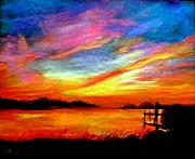 Gail Kirtz Prints - Southern Sunset Print by Gail Kirtz