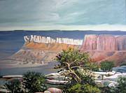 Southern Utah Butte Print by Matthew Chatterley