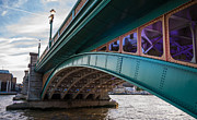Southwark Bridge Prints - Southwark Bridge Print by Dawn OConnor
