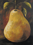 Pear Art - Southwest Pear by Torrie Smiley