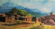 Southwest Village Print by Robert Carver
