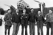12th Air Force Prints - Soviet N-209 Transpolar Flight Crew, 1937 Print by Ria Novosti