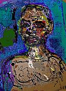Self-portrait Mixed Media - Sp 110108 by Noredin Morgan