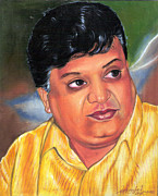 Venkat Meruvu Paintings - Sp Balasubramaniam by Venkat Meruvu