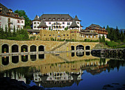 Award Framed Prints - SPA Resort A-ROSA - Kitzbuehel Framed Print by Juergen Weiss