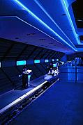 Thrill Digital Art - Space Mountain Loading Area by Purcell Pictures
