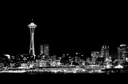 Steve Shockley - Space Needle BW