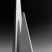 Monument Prints - Space Port Print by David Bowman