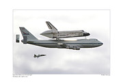 Wendy Fike Posters - Space Shuttle Discovery Poster by Wendy Fike