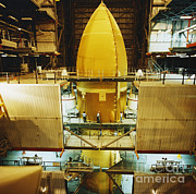 External Framed Prints - Space Shuttle External Tank Framed Print by Science Source
