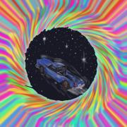 Rock N Roll Digital Art - Space Truckn by Kevin Caudill