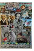 The Economy Mixed Media - Spacetime Hyperbolic Grace Kelly Eternal Return Road by Francesco Martin