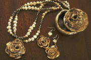 Jewelry Originals - Spain Inspired Roses Of War by Alicia Morales