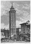 1833 Photos - Spain: Saragossa, 1833 by Granger