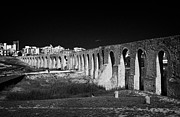 Spans Prints - Span Of The Kamares Aqueduct Larnaca Republic Of Cyprus Europe The Aqueduct Was Built In 1750 Print by Joe Fox