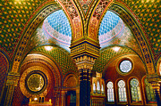 Spanish Synagogue Digital Art Originals - Spanelska by John Galbo