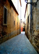Urban Acrylic Prints - Spanish Alley by Roberto Alamino