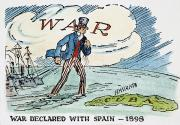 Spanish American War Framed Prints - Spanish-american War, 1898 Framed Print by Granger