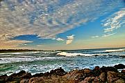 Larry Darnell Prints - Spanish Bay Sunrise Print by Larry Darnell