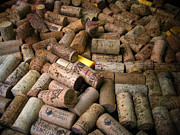 Wine Cork Collection Prints - Spanish Corks Print by Perry Van Munster