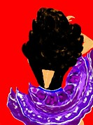 Hairstyle Digital Art - Spanish Dancer 2 by Lori  Lovetere
