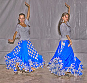 Spanish Dancer Photos - Spanish Dancers by Rod Jones