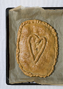 Valentines Day Prints - Spanish Empanada Print by Frank Tschakert