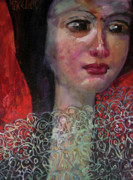 Po-po Paintings - Spanish Girl by Snjezana Mekic Delic