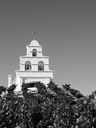 Inspire Metal Prints - Spanish Mission in the Vineyards I Metal Print by Matt Hanson
