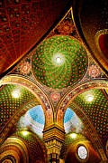 Star Of David Art - Spanish Synagogue by John Galbo