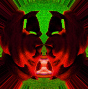 Anger Digital Art - Spark2 by Scott Evers