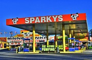 Photographers Atlanta Prints - Sparkeys Print by Corky Willis Atlanta Photography