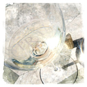 Photo  Paintings - Sparkling Sauvignon Blanc by Penelope Moore
