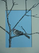 Julianna Wells - Sparrow in Tree