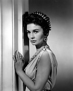 1960 Movies Framed Prints - Spartacus, Jean Simmons, 1960 Framed Print by Everett