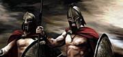 Spartans 2 Print by James Shepherd