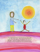 Autism Art Posters - Special Child Poster by Jerry Patterson