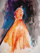Evening Gown Paintings - Special Evening by Trilby Cole
