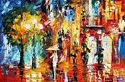 Rain Painting Framed Prints - Special Rain Framed Print by Leonid Afremov