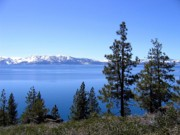 Attractive Framed Prints - Spectacular Lake Tahoe Framed Print by Will Borden