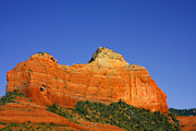 Erosion Acrylic Prints - Spectacular red rocks - Sedona AZ Acrylic Print by Christine Till