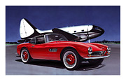 Sportscar Paintings - Speed by Carart Matthew