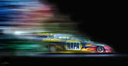 Funny Car Prints - Speed Coloring Print by Peter Chilelli
