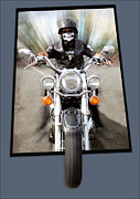 Out Of Bounds Prints - Speed Demon Print by Ann  Van Breemen