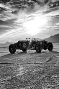 Bonneville Images Prints - Speed Week Roadster Print by Holly Martin